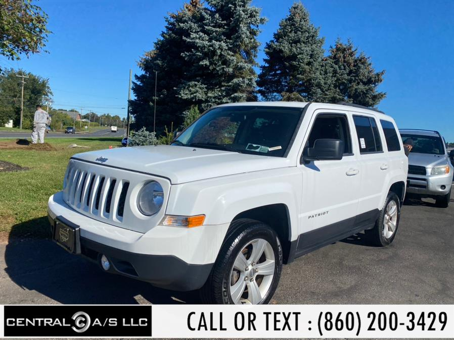 Used Jeep Patriot 4WD 4dr Latitude 2014 | Central A/S LLC. East Windsor, Connecticut