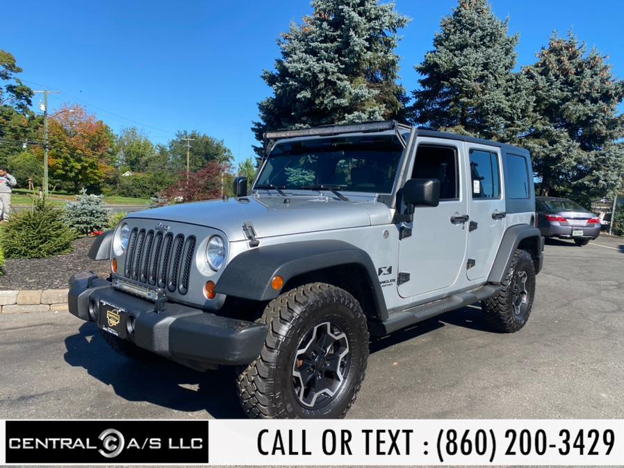 Used Jeep Wrangler 4WD 4dr Unlimited X 2007 | Central A/S LLC. East Windsor, Connecticut
