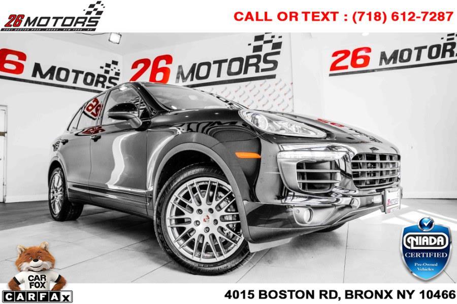 Used Porsche Cayenne S AWD 2017   26 Motors Corp. Bronx, New York