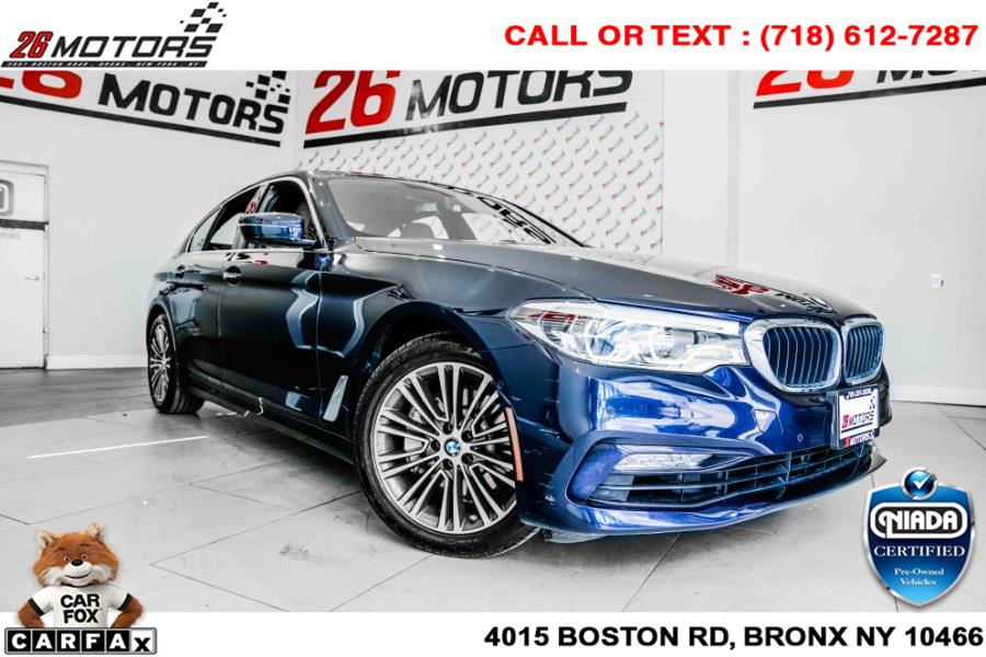 Used BMW 5 Series 540i xDrive Sedan 2017   26 Motors Corp. Bronx, New York