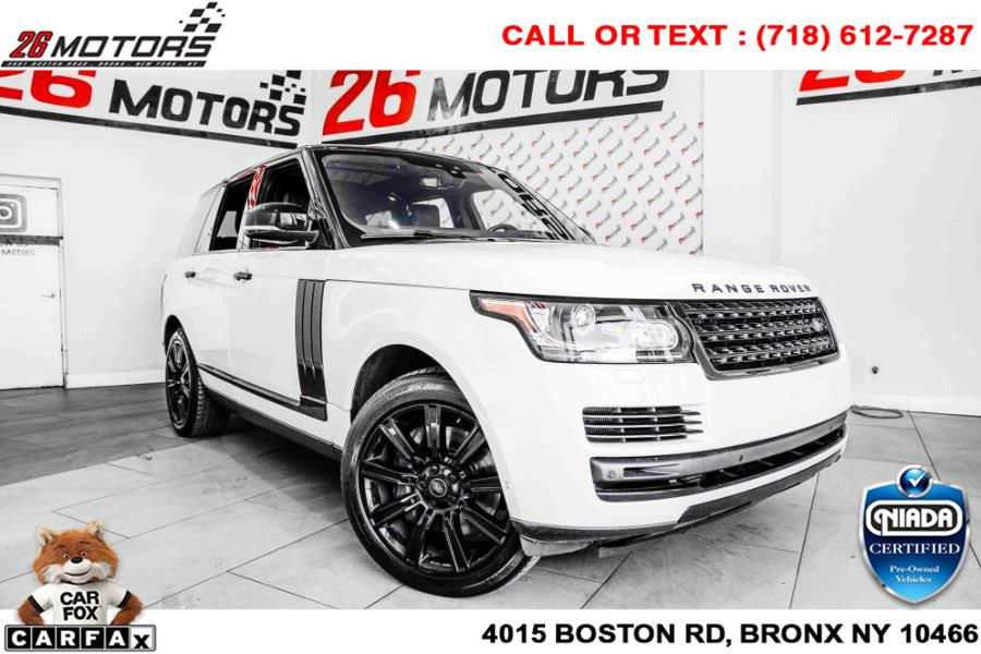 Used Land Rover Range Rover V6 Supercharged HSE SWB 2017 | 26 Motors Corp. Bronx, New York