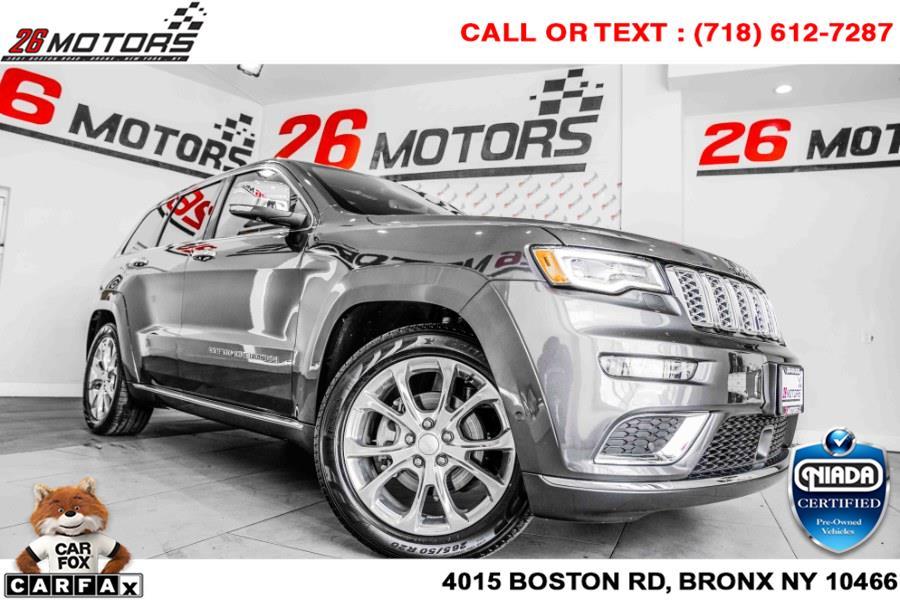 Used Jeep Grand Cherokee Summit 4x4 2020 | 26 Motors Corp. Bronx, New York