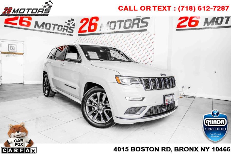 Used Jeep Grand Cherokee High Altitude 4x4 *Ltd Avail* 2018   26 Motors Corp. Bronx, New York