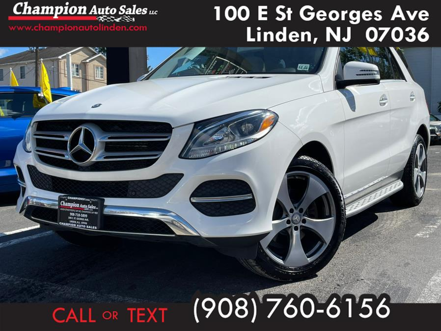 Used 2017 Mercedes-Benz GLE in Linden, New Jersey | Champion Used Auto Sales. Linden, New Jersey