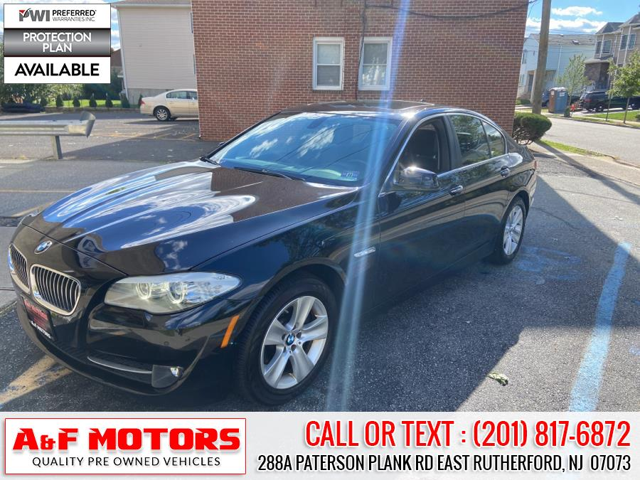 Used 2013 BMW 5 Series in East Rutherford, New Jersey   A&F Motors LLC. East Rutherford, New Jersey