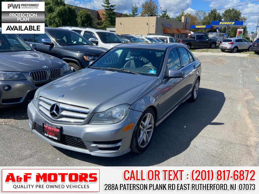 Used 2013 Mercedes-Benz C-Class in East Rutherford, New Jersey   A&F Motors LLC. East Rutherford, New Jersey