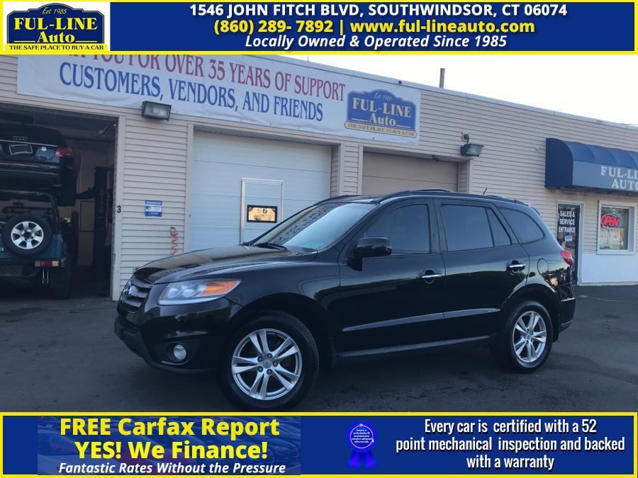 Used Hyundai Santa Fe AWD 4dr V6 Limited 2012 | Ful-line Auto LLC. South Windsor , Connecticut