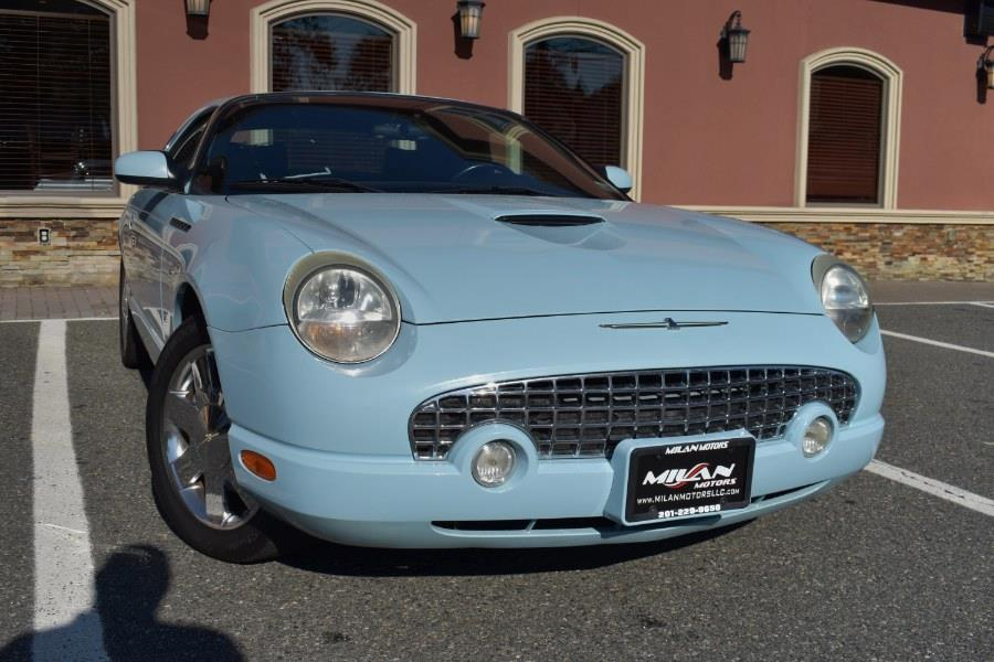 Used Ford Thunderbird 2dr Conv w/Hardtop Premium 2003 | Milan Motors. Little Ferry , New Jersey