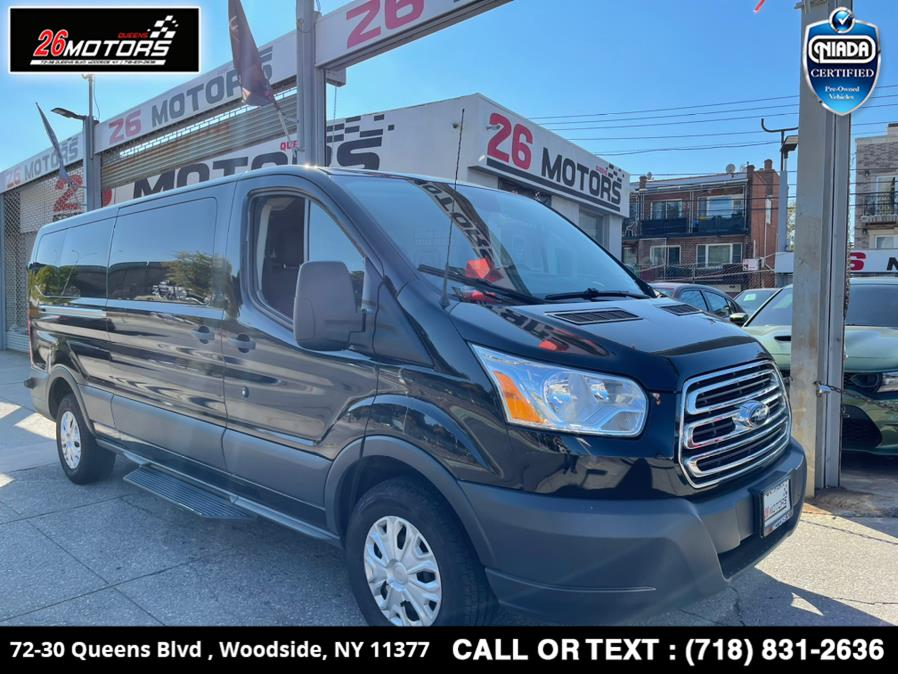 "Used Ford Transit Passenger Wagon T-350 148"" Low Roof XLT Sliding RH Dr 2018 | 26 Motors Queens. Woodside, New York"