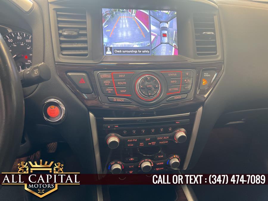 Used Nissan Pathfinder 4WD 4dr Platinum 2015   All Capital Motors. Brooklyn, New York