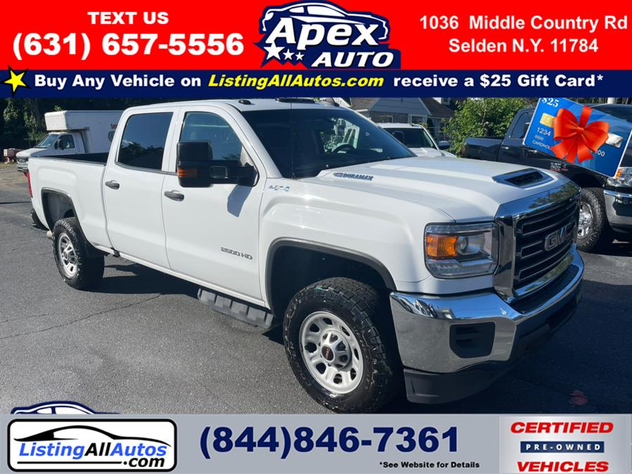 Used 2019 GMC Sierra 2500HD in Patchogue, New York   www.ListingAllAutos.com. Patchogue, New York