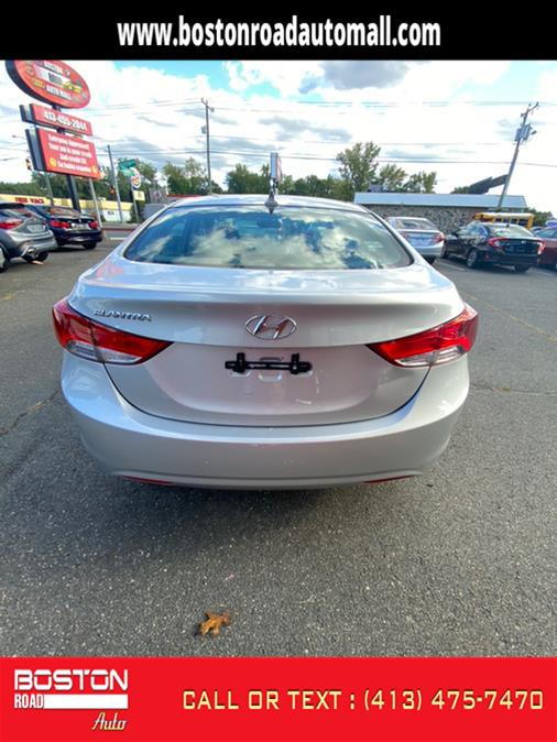 Used Hyundai Elantra GLS A/T 2013   Boston Road Auto. Springfield, Massachusetts