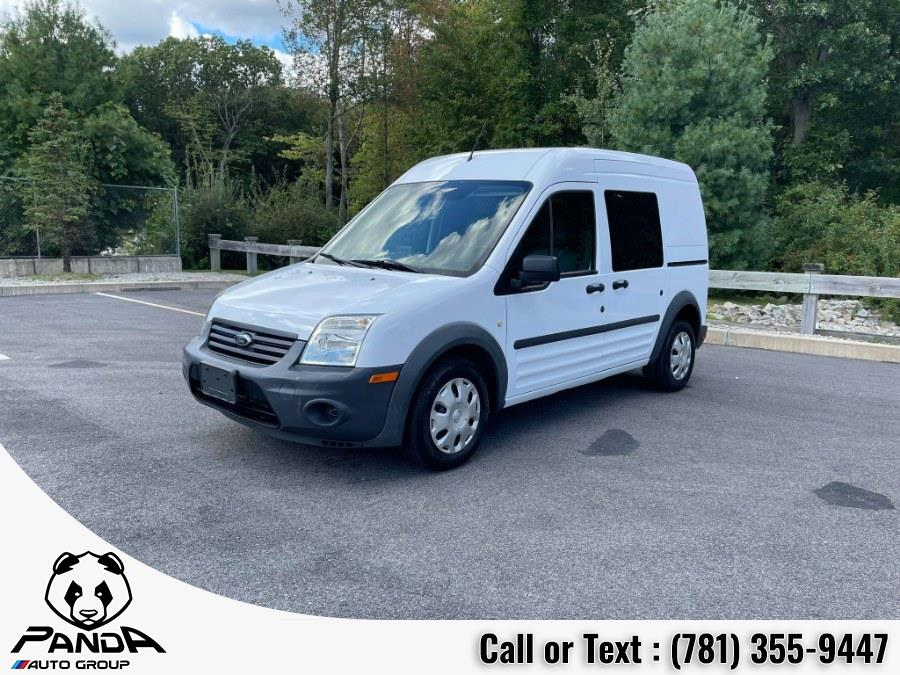 """Used Ford Transit Connect 114.6"""" XL w/side & rear door privacy glass 2013   Panda Auto Group. Abington, Massachusetts"""