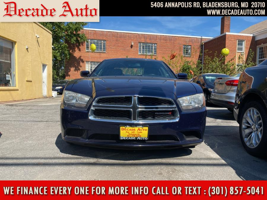 Used Dodge Charger 4dr Sdn SE RWD 2013 | Decade Auto. Bladensburg, Maryland