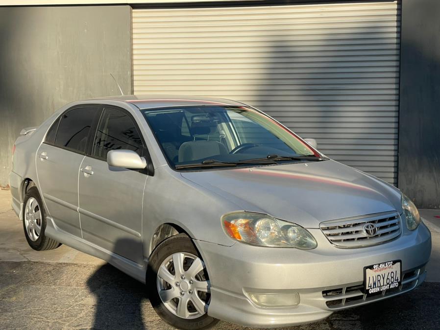 Used 2003 Toyota Corolla in Corona, California | Green Light Auto. Corona, California