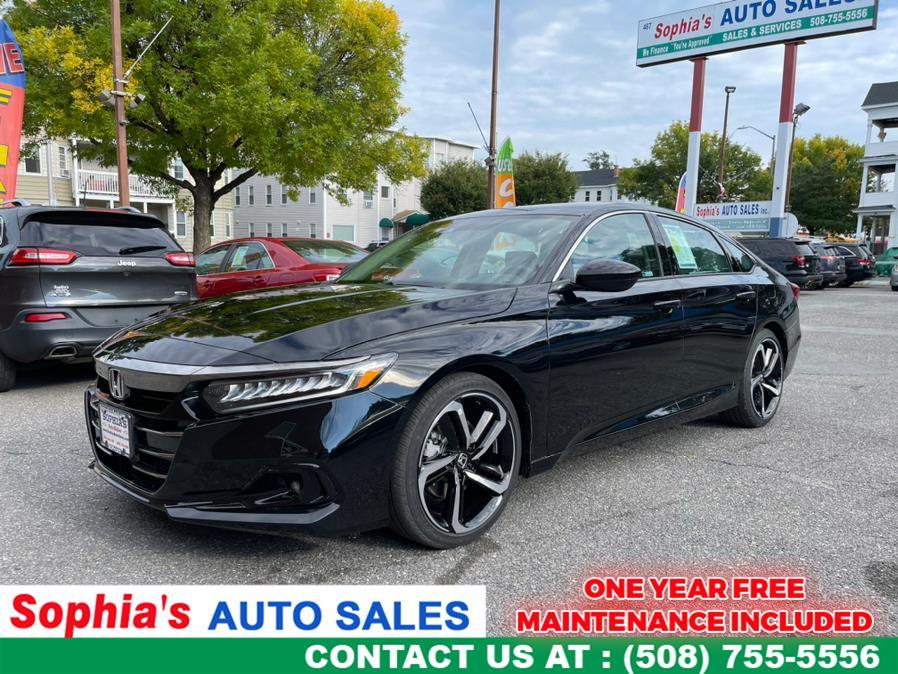 Used 2021 Honda Accord Sedan in Worcester, Massachusetts | Sophia's Auto Sales Inc. Worcester, Massachusetts