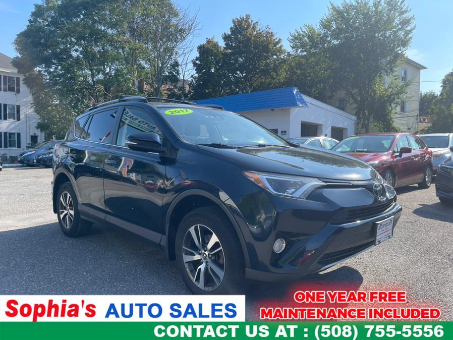 Used 2017 Toyota RAV4 in Worcester, Massachusetts   Sophia's Auto Sales Inc. Worcester, Massachusetts