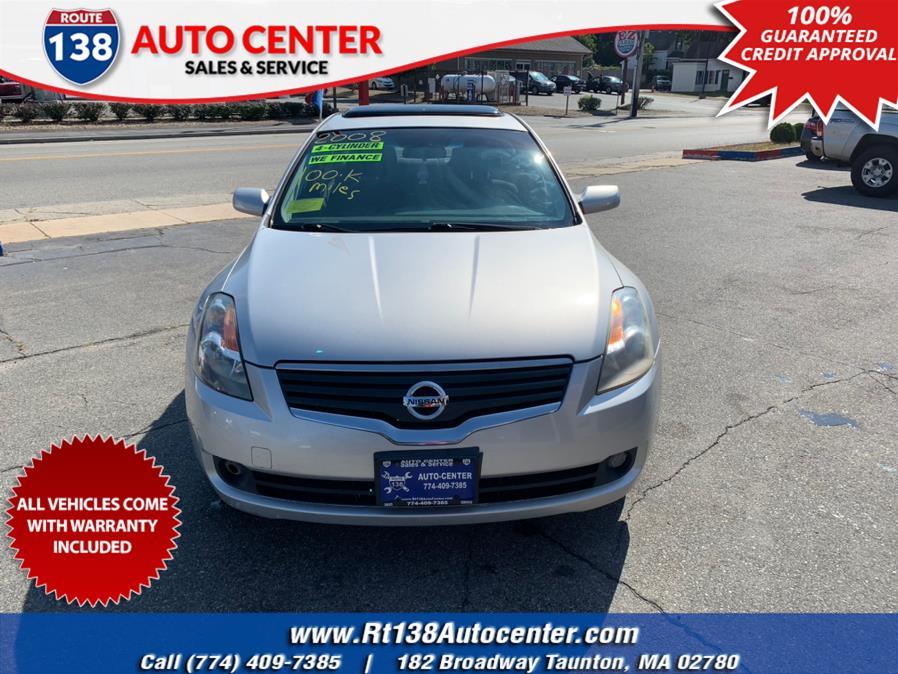 Used 2008 Nissan Altima in Taunton, Massachusetts | Rt 138 Auto Center Inc . Taunton, Massachusetts