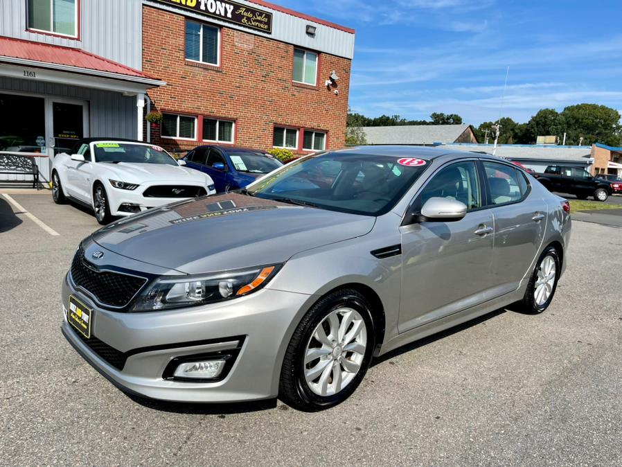 Used Kia Optima 4dr Sdn EX 2015 | Mike And Tony Auto Sales, Inc. South Windsor, Connecticut