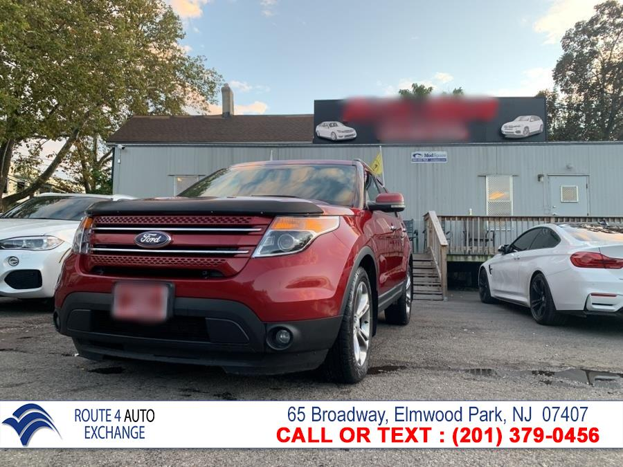 Used Ford Explorer 4WD 4dr Limited 2013   Route 4 Auto Exchange. Elmwood Park, New Jersey