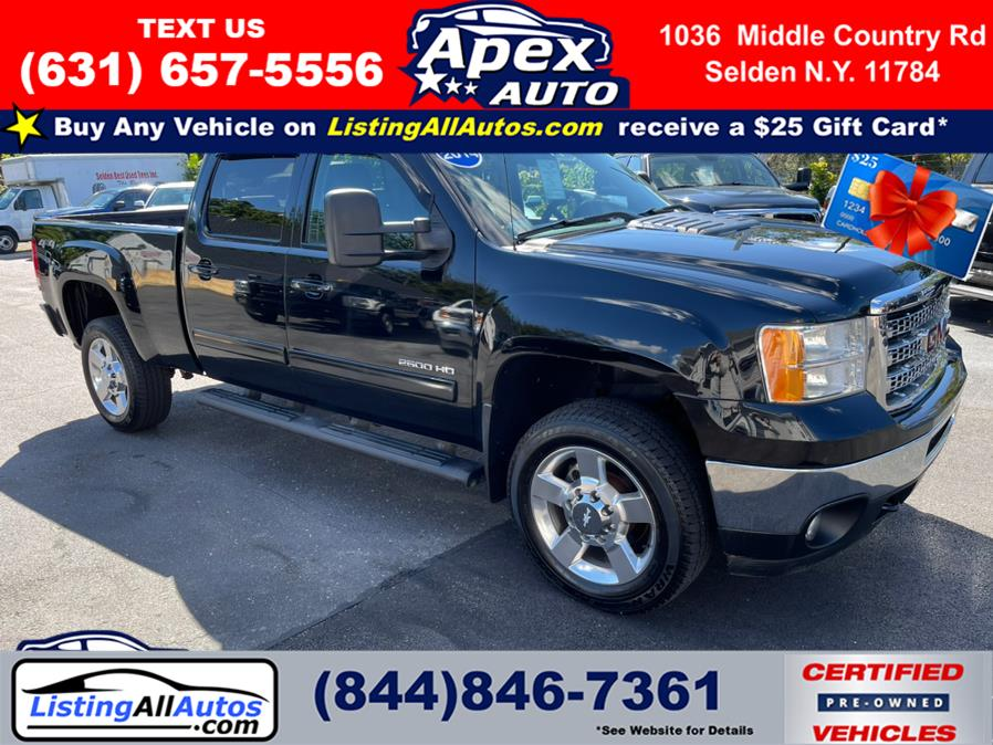 Used 2014 GMC Sierra 2500HD in Patchogue, New York   www.ListingAllAutos.com. Patchogue, New York