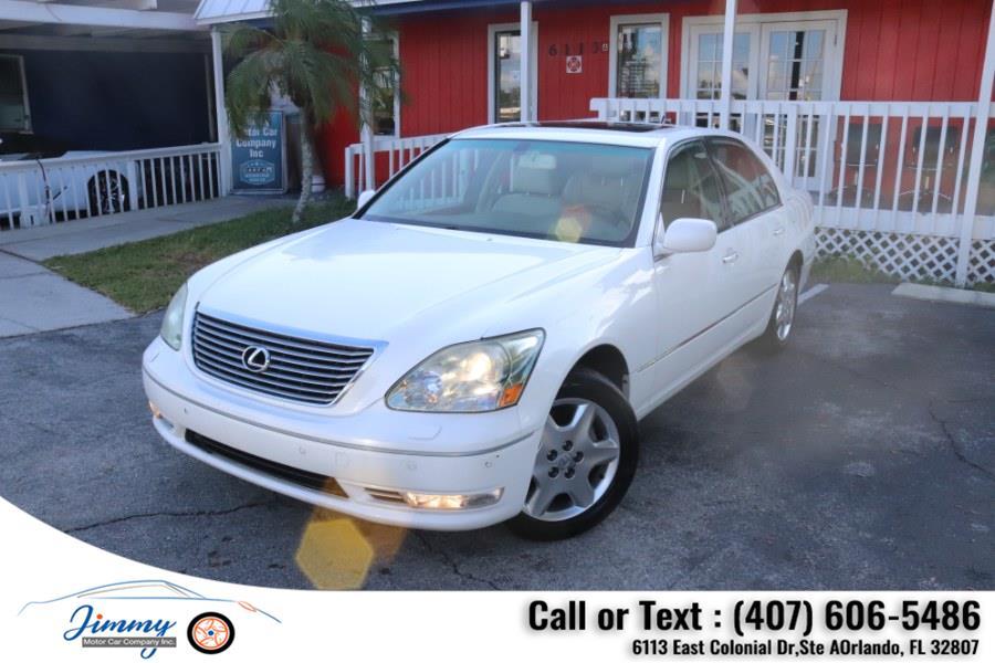 Used Lexus LS 430 4dr Sdn 2004 | Jimmy Motor Car Company Inc. Orlando, Florida