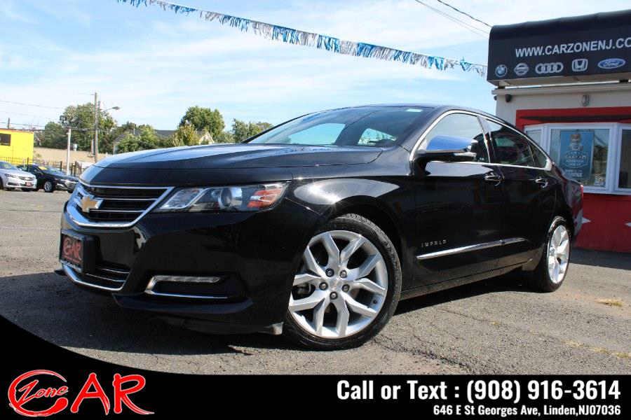 Used Chevrolet Impala 4dr Sdn Premier w/2LZ 2019   Car Zone. Linden, New Jersey