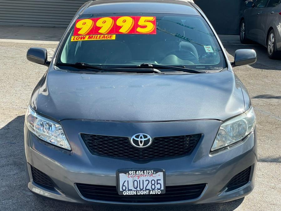 Used Toyota Corolla 4dr Sdn Auto LE (GS) 2009   Green Light Auto. Corona, California