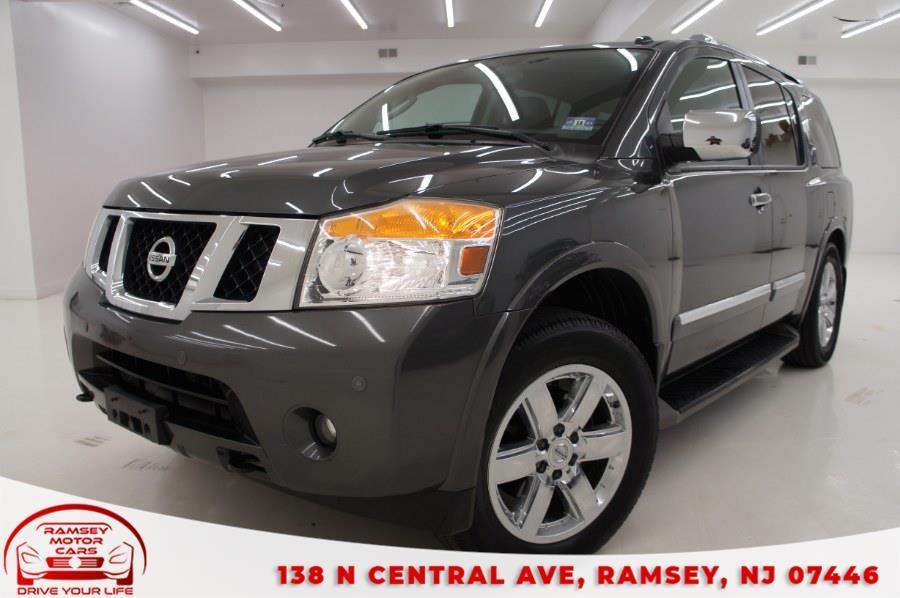 Used 2012 Nissan Armada in Ramsey, New Jersey | Ramsey Motor Cars Inc. Ramsey, New Jersey