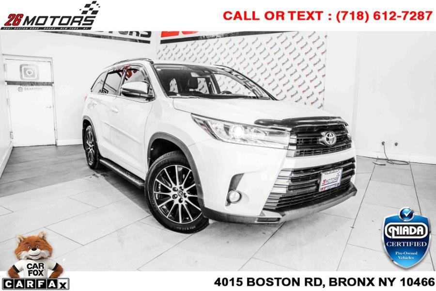 Used Toyota Highlander SE V6 AWD (Natl) 2018 | 26 Motors Corp. Bronx, New York