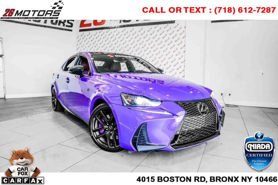 Used Lexus IS IS 350 F Sport AWD 2018 | 26 Motors Corp. Bronx, New York