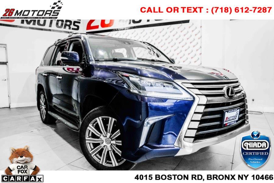 Used Lexus LX 570 4WD 4dr 2016 | 26 Motors Corp. Bronx, New York