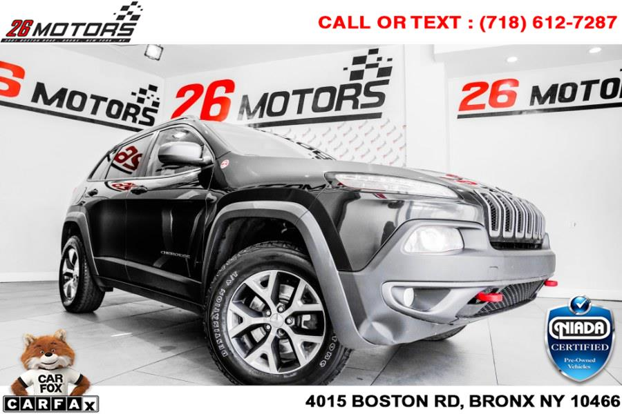 Used Jeep Cherokee 4WD 4dr Trailhawk 2016 | 26 Motors Corp. Bronx, New York