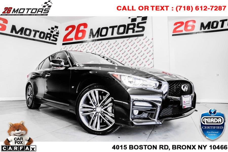 Used INFINITI Q50 4dr Sdn AWD 2014 | 26 Motors Corp. Bronx, New York
