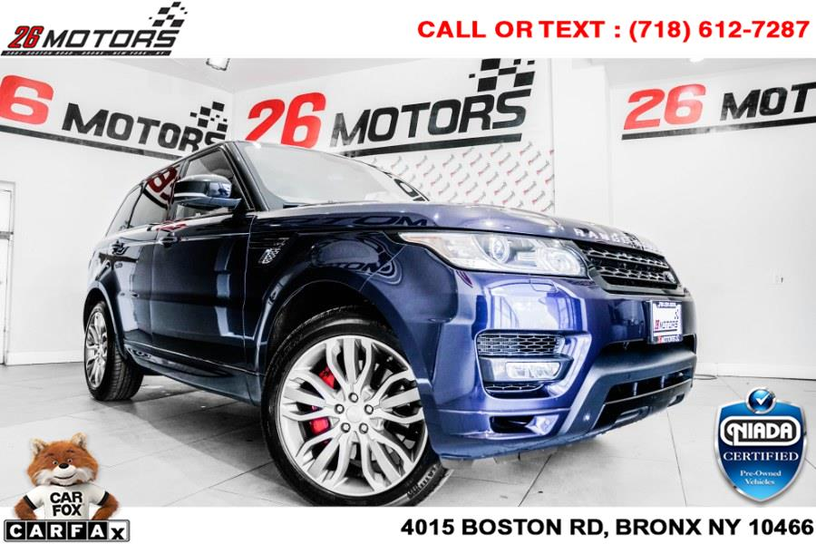 Used Land Rover Range Rover Sport 4WD 4dr Autobiography 2015 | 26 Motors Corp. Bronx, New York