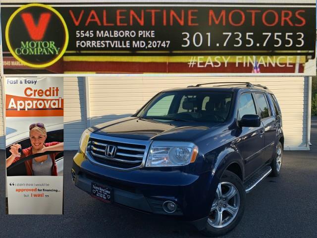 Used Honda Pilot EX-L 2014 | Valentine Motor Company. Forestville, Maryland