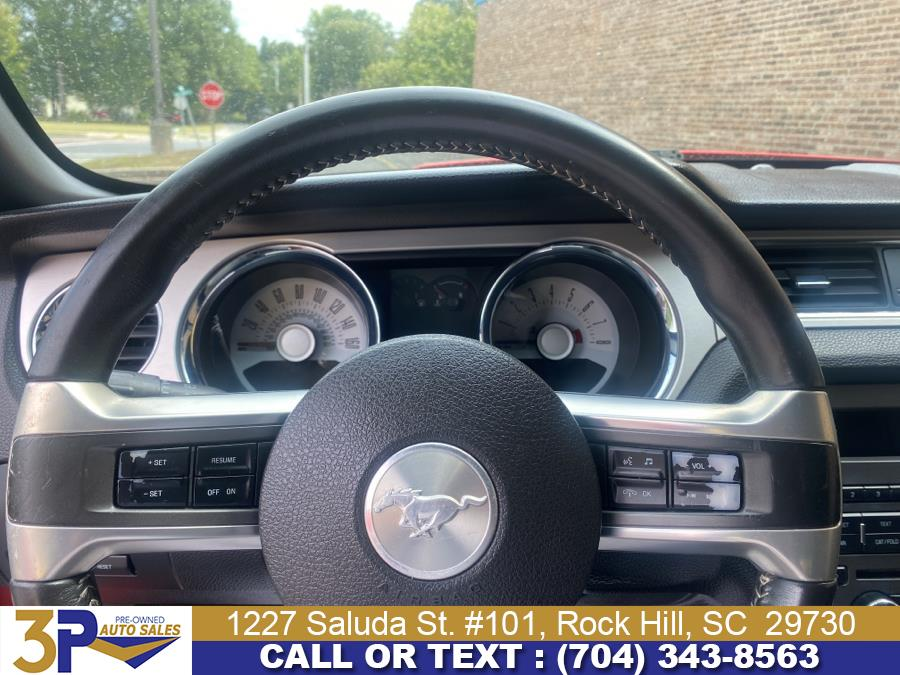 Used Ford Mustang 2dr Conv V6 Premium 2012   3 Points Auto Sales. Rock Hill, South Carolina