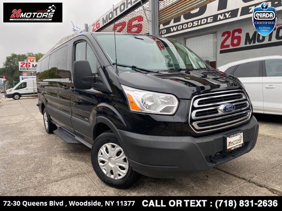 "Used Ford Transit Passenger Wagon T-350 148"" Low Roof XLT Sliding RH Dr 2019 | 26 Motors Queens. Woodside, New York"