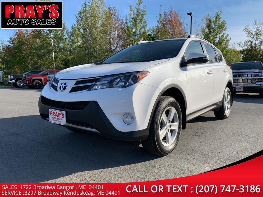 Used Toyota RAV4 AWD 4dr XLE (Natl) 2014   Pray's Auto Sales . Bangor , Maine