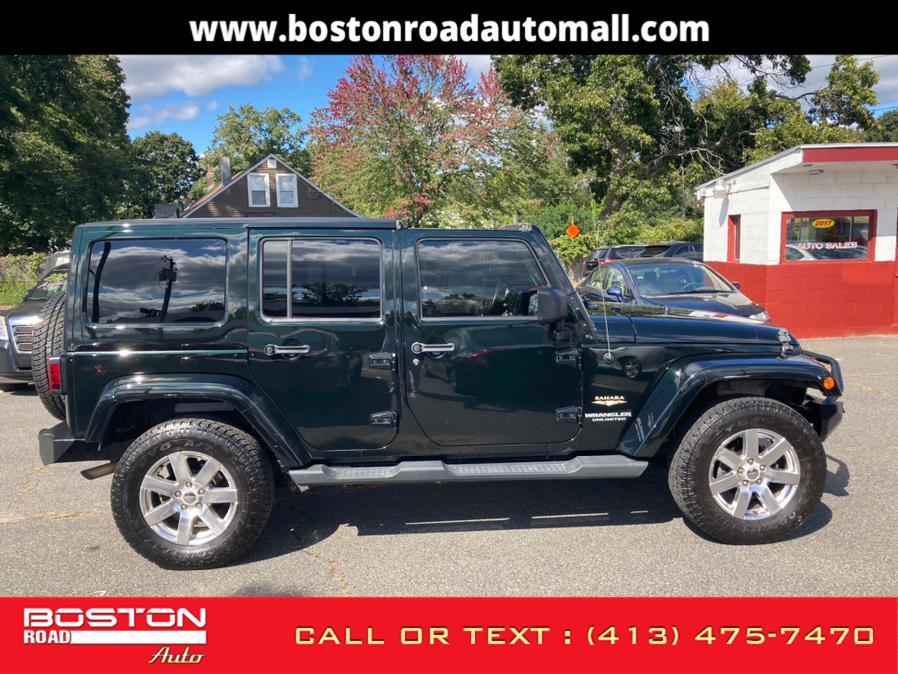 Used Jeep Wrangler Unlimited UNLIMITED SAHARA 4WD 2012 | Boston Road Auto. Springfield, Massachusetts