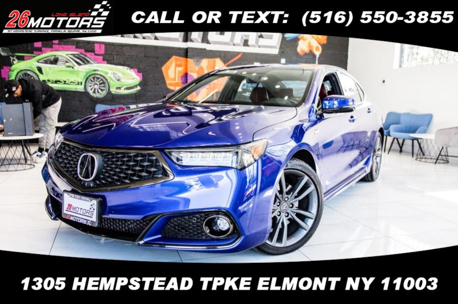 Used Acura TLX 3.5L FWD w/A-Spec Pkg Red Leather 2019   26 Motors Corp. Bronx, New York