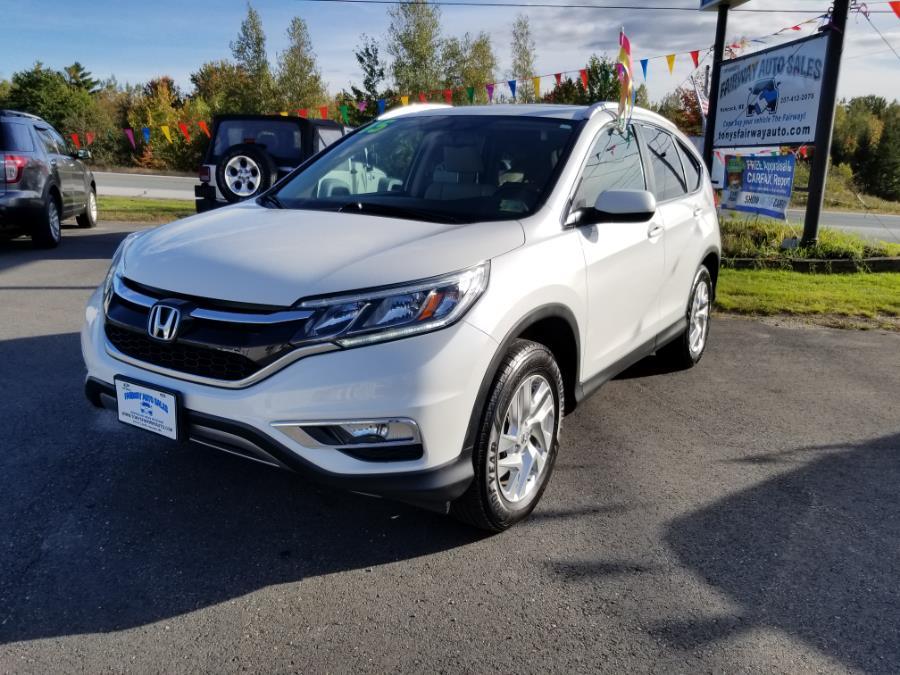 Used Honda CR-V AWD 5dr EX-L w/Navi 2015 | Fairway Auto Sales. Hancock, Maine