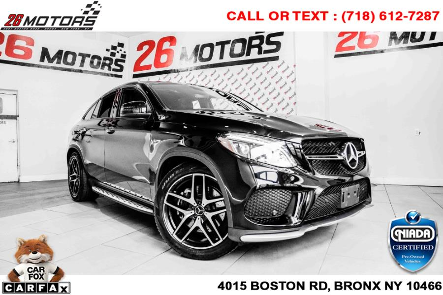 Used Mercedes-Benz GLE AMG GLE 43 4MATIC Coupe 2018   26 Motors Corp. Bronx, New York