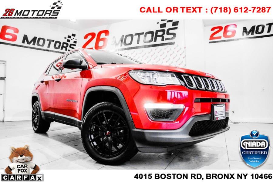 Used Jeep Compass Sport 4x4 2018   26 Motors Corp. Bronx, New York