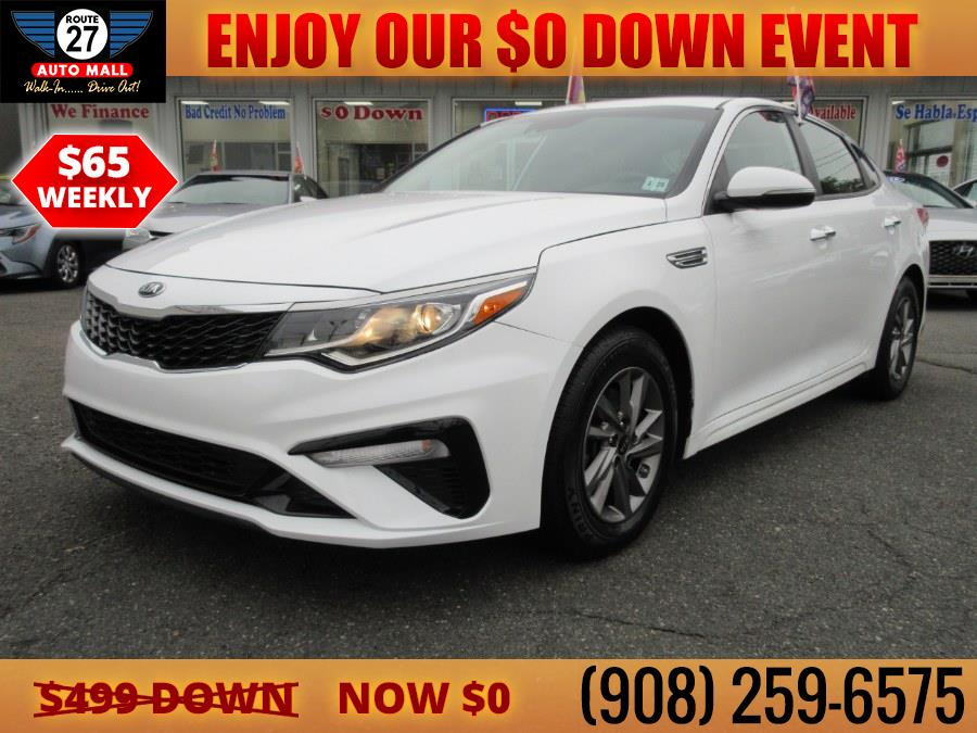 Used 2020 Kia Optima in Linden, New Jersey   Route 27 Auto Mall. Linden, New Jersey