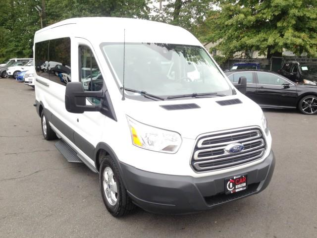 Used Ford T-350 Transit Passenger Wagon XLT w/ rearCam 2018 | Car Revolution. Maple Shade, New Jersey