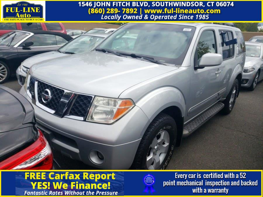 Used 2007 Nissan Pathfinder in South Windsor , Connecticut | Ful-line Auto LLC. South Windsor , Connecticut