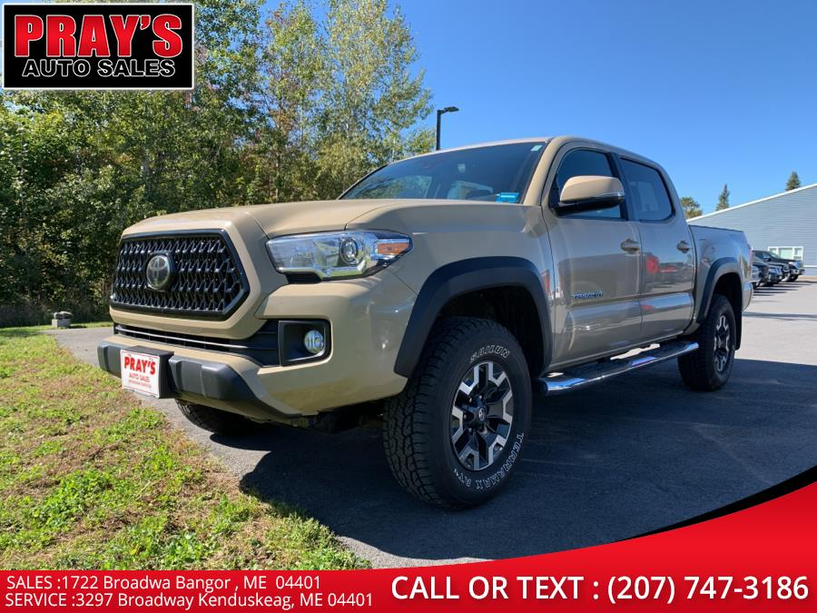 Used Toyota Tacoma TRD Off Road Double Cab 5'' Bed V6 4x4 AT (Natl) 2018 | Pray's Auto Sales . Bangor , Maine