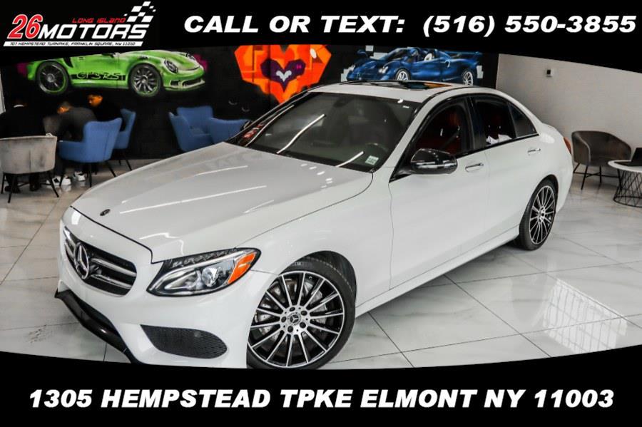 Used Mercedes-Benz C-Class ///AMG Package C 300 Sedan 2018 | 26 Motors Corp. Bronx, New York