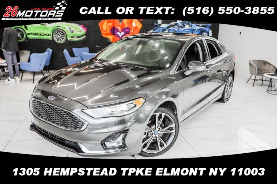 Used Ford Fusion Titanium AWD 2019   26 Motors Corp. Bronx, New York